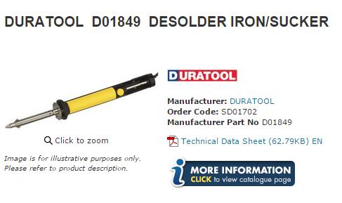 desoldering iron